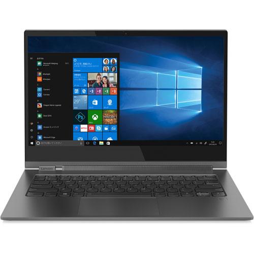 【長期保証付】Lenovo 81C4007RJP(アイアングレー) Lenovo YOGA C930 13.9型液晶 Core i5-8250U搭載