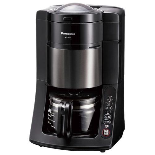 パナソニック NC-A57-K(ブラック) コーヒーメーカー