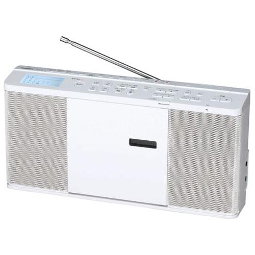 【長期保証付】東芝 TY-CX700-W(ホワイト) SD/USB/CDラジオ