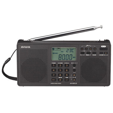 AIWA AR-MDS25 ワールドバンドラジオ ワイドFMチューナー搭載