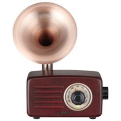 AIWA SB-FH20(ブラウンウッド) FMラジオ付Bluetoothスピーカー Bluetooth接続