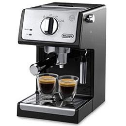 【長期保証付】デロンギ ECP3220J-BK(インテンス ブラック) コーヒーメーカー アクティブ