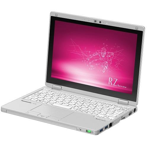 【長期保証付】パナソニック CF-RZ8BDFQR(シルバー) RZ8 ノートパソコン10.1型液晶