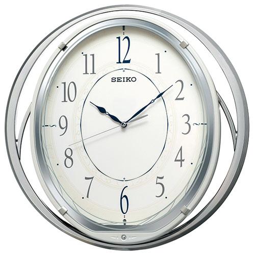 セイコー AM262W 電波掛け時計