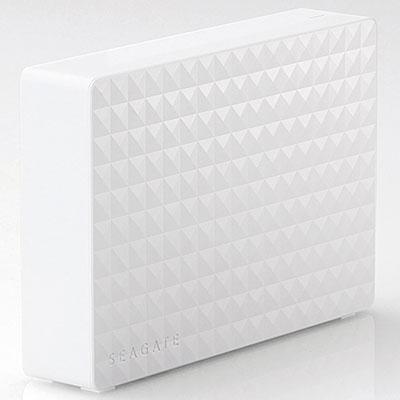 エレコム SGD-MX040UWH(ホワイト) 外付けHDD 4TB USB3.1(Gen1) /3.0/2.0接続