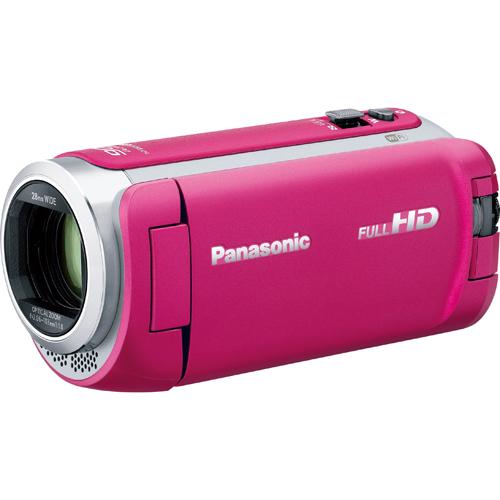 【長期保証付】パナソニック HC-W590M-P(ピンク) デジタルハイビジョンカメラ 64GB