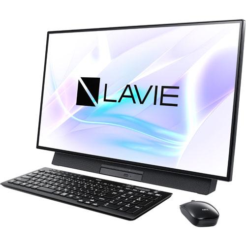 【長期保証付】NEC PC-DA500MAB(ファインブラック) LAVIE Desk All-in-one 27型液晶
