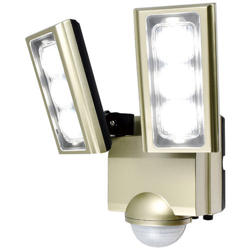 在庫あり 休み 14時までの注文で当日出荷可能 エルパ ESL-ST1202AC 店 2灯 コンセント式 LEDセンサーライト