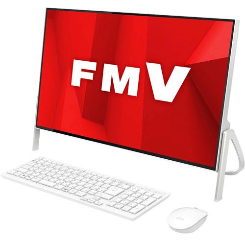 【長期保証付】富士通 FMVF52D1W(ホワイト) ESPRIMO FHシリーズ 23.8型液晶