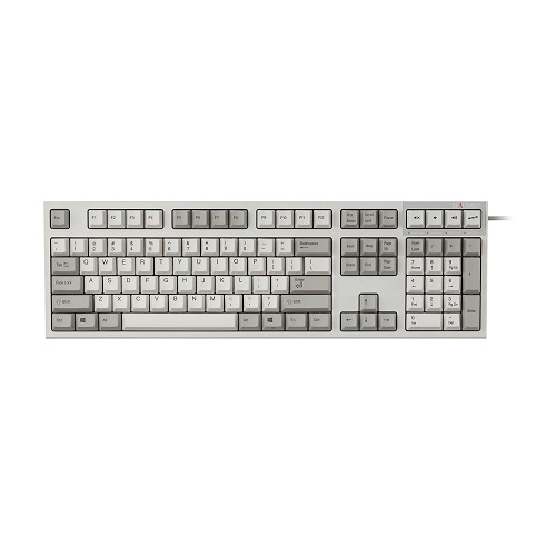 東プレ R2A-US3-IV(アイボリー) REALFORCE A 無接点 APC 英語108キー キーボード