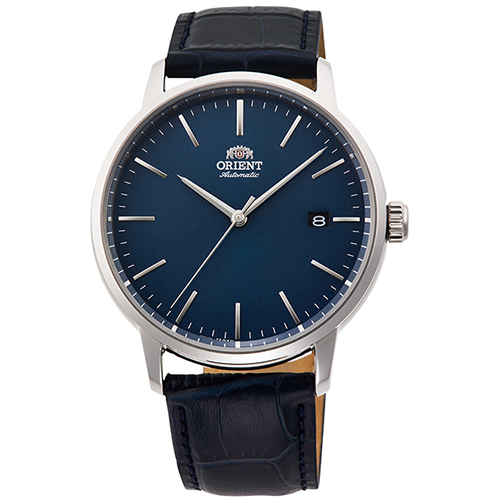 【長期保証付】オリエント RN-AC0E04L 自動巻き(手巻き付き) 腕時計 メンズ
