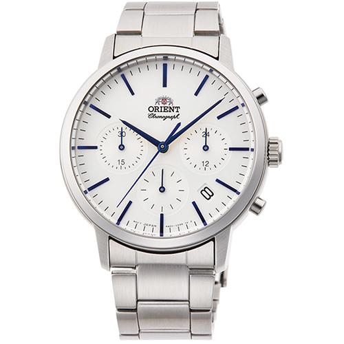 【長期保証付】オリエント RN-KV0302S クオーツ 腕時計 メンズ