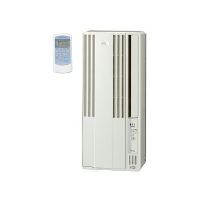 【長期保証付】コロナ CW-FA1819-W(シティホワイト) ウインドエアコン 冷房専用 主に5畳~8畳