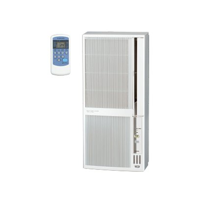 【設置+リサイクル(別途料金)】コロナ CWH-A1819-WS(シェルホワイト) ウインドエアコン 冷暖房兼用 主に5畳~8畳