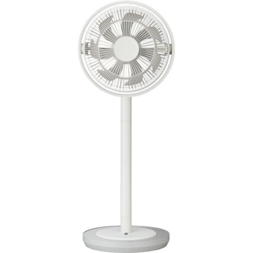 【長期保証付】ドウシシャ ULKF-1281D-WH(ホワイト) 28cm DC リビング扇風機 カモメファン リモコン付