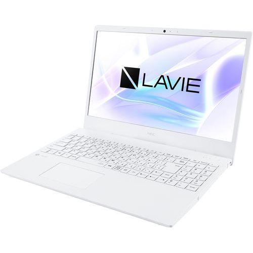NEC PC-N1510AAW パールホワイト LAVIE N15 15.6型 Athlon 4GB 500GB Office 迎春 お買い得 お見舞