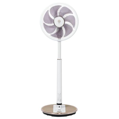 【長期保証付】トヨトミ FS-DST30JHR-WM(ナチュラルウッド) 30cmDCトリプルセンサー ハイポジション扇風機 リモコン付