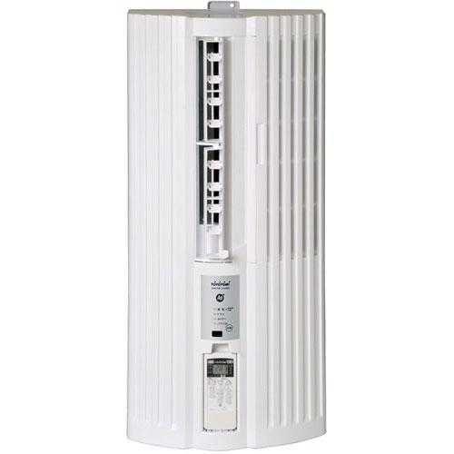 【設置+リサイクル+長期保証】トヨトミ TIW-A160J-W(ホワイト) ウインドウエアコン 冷房専用 主に5畳