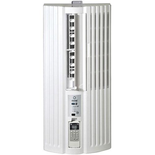 【設置+長期保証】トヨトミ TIW-AS180J-W(ホワイト) ウインドウエアコン 人感センサー付 冷房専用 主に6畳