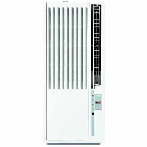 【設置+長期保証】ハイアール JA-18T-W(ホワイト) ウインドエアコン 冷房専用 木造4.5~5畳/鉄筋7~8畳