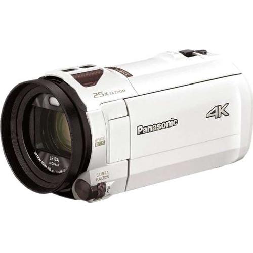 【長期保証付】パナソニック HC-VX992M-W(ピュアホワイト) デジタル4Kビデオカメラ 64GB