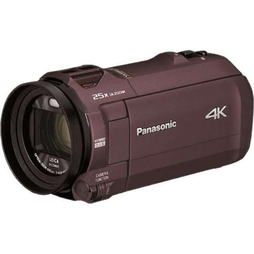 【長期保証付】パナソニック HC-VX992M-T(カカオブラウン) デジタル4Kビデオカメラ 64GB