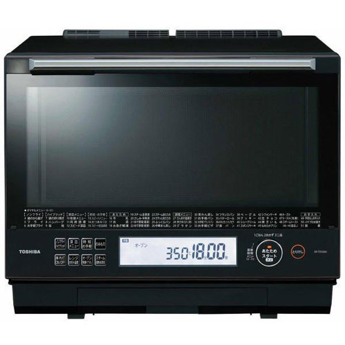 【長期保証付】東芝 ER-TD5000-K(グランブラック) 石窯ドーム 過熱水蒸気オーブンレンジ 30L