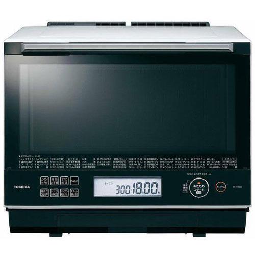 【長期保証付】東芝 ER-TD3000-W(グランホワイト) 石窯ドーム 過熱水蒸気オーブンレンジ 30L