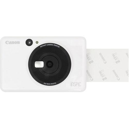 CANON iNSPiC(インスピック) CV-123-WH(ホワイト) インスタントカメラプリンター