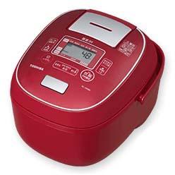 【長期保証付】東芝 RC-18VRN-R(シャインレッド) 合わせ炊き 真空IHジャー炊飯器 1升