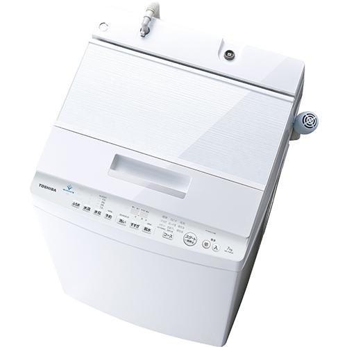 【設置+長期保証】東芝 AW-7D8-W(グランホワイト) 全自動洗濯機 上開き 洗濯7kg DDモーター