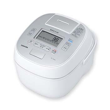 【長期保証付】東芝 RC-18VXN-W(グランホワイト) 合わせ炊き 真空圧力IHジャー炊飯器 1升