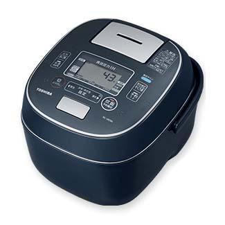 東芝 RC-10VSN-L(インディゴブルー) 合わせ炊き 真空圧力IHジャー炊飯器 5.5合