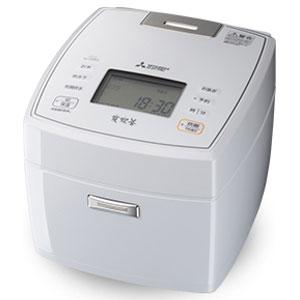 三菱 NJ-VEB18-W(月白) 備長炭 炭炊釜 ジャー炊飯器 10合