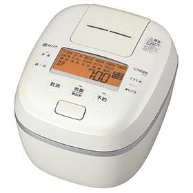 タイガー魔法瓶 JPI-A180-WO(オフホワイト) 炊きたて ご泡火炊き 圧力IHジャー炊飯器 1升