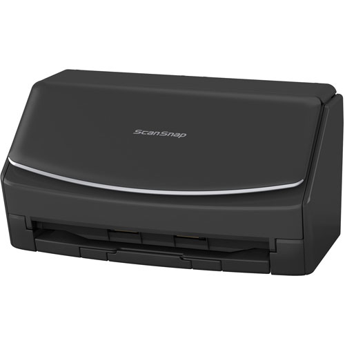 富士通 ScanSnap FI-IX1500BK-P(ブラック) ドキュメントスキャナー 2年保証モデル