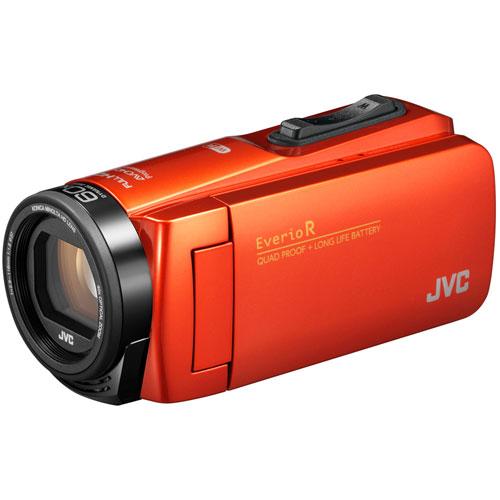 【長期保証付】JVC GZ-RX690-D(オレンジ) Everio R(エブリオR) ハイビジョンメモリームービー 防水モデル 64GB