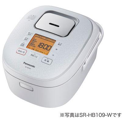 パナソニック SR-HB189-W(ホワイト) IHジャー炊飯器 1升