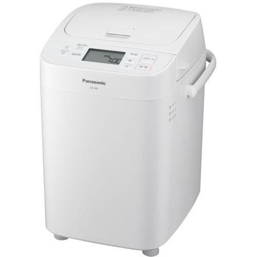 【送料無料】【在庫あり】14時までの注文で当日出荷可能! パナソニック Panasonic SD-SB1-W(ホワイト) 1斤タイプ ホームベーカリー SDSB1W