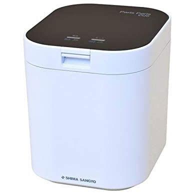 【長期保証付】島産業 PPC-11-BK(ブラック) 家庭用生ごみ減量乾燥機 パリパリキュー 2.8L