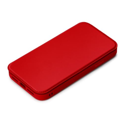 PGA PG-20GGF02RD 40%OFFの激安セール レッド 祝開店大放出セール開催中 12Pro用 ガラスタフフリップカバー iPhone12