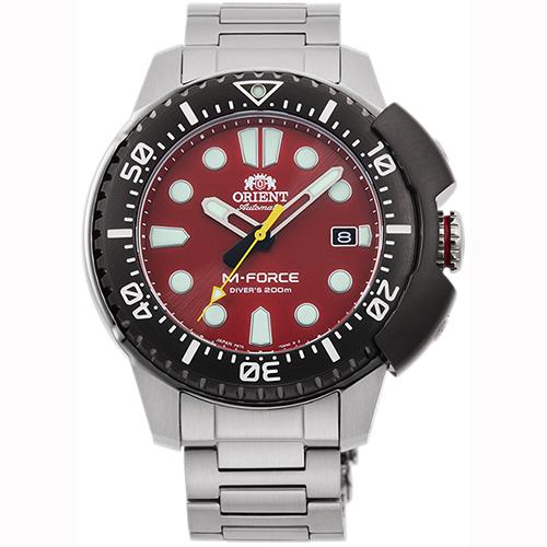 スポーツ オリエント RN-AC0L02R(赤) 腕時計(メンズ) 自動巻き(手巻き付き)