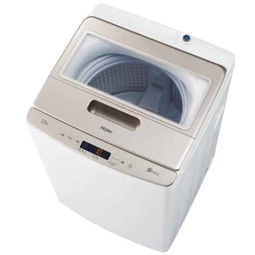設置 着後レビューで 送料無料 リサイクル ハイアール お気に入り JW-LD75A-W 洗濯7.5kg 上開き 全自動洗濯機 ホワイト