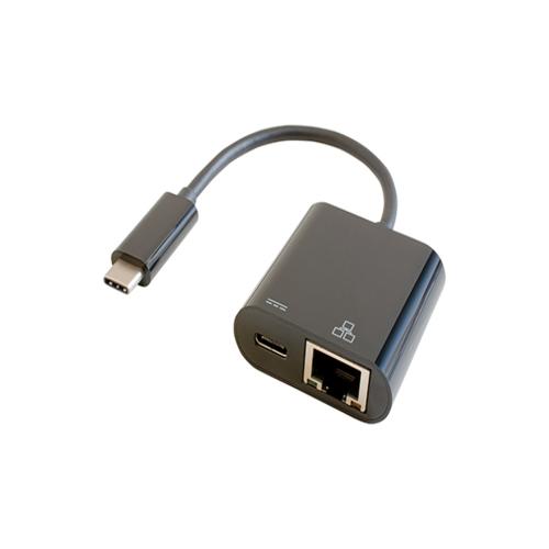 在庫あり 豪華な 14時までの注文で当日出荷可能 IODATA GP-CR45H 贈与 ブラック B 充電対応Type-C接続のGigabit有線LANアダプター
