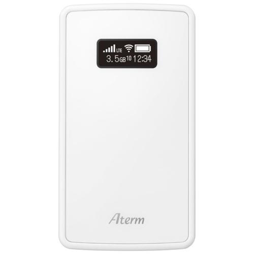 <title>在庫あり 14時までの注文で当日出荷可能 おすすめ NEC PA-MP02LS-SW Aterm MP02LS LTEモバイルルータ</title>