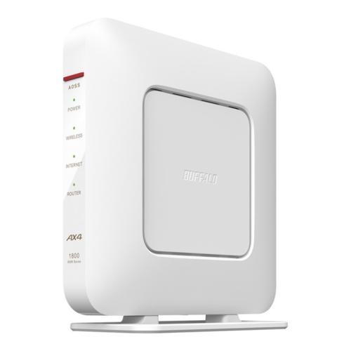 在庫あり 14時までの注文で当日出荷可能 バッファロー WSR-1800AX4S-WH 全品送料無料 ホワイト 6対応ルーター エントリーモデル Wi-Fi 新登場