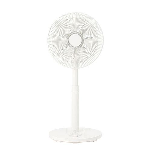 在庫あり マーケティング 14時までの注文で当日出荷可能 コイズミ KLF-3011W リモコン付 ホワイト 30cmDCリビング扇風機 本日の目玉 風量12段階調節