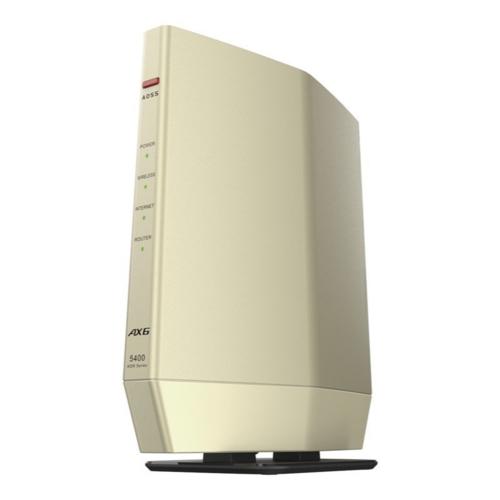 バッファロー WSR-5400AX6S-CG シャンパンゴールド Wi-Fi プレミアムモデル 対応ルーター 蔵 6 訳あり