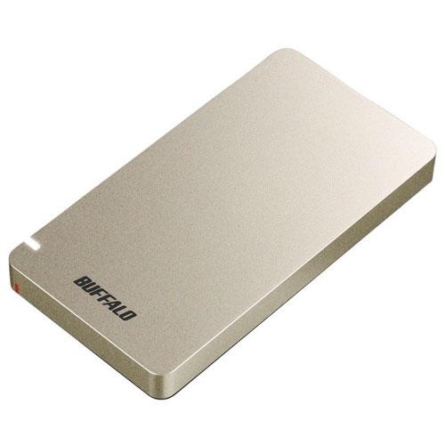 ご予約品 在庫あり 新発売 14時までの注文で当日出荷可能 バッファロー SSD-PGM500U3-GC ゴールド SSD-PGM2.0U3-BC 500GB