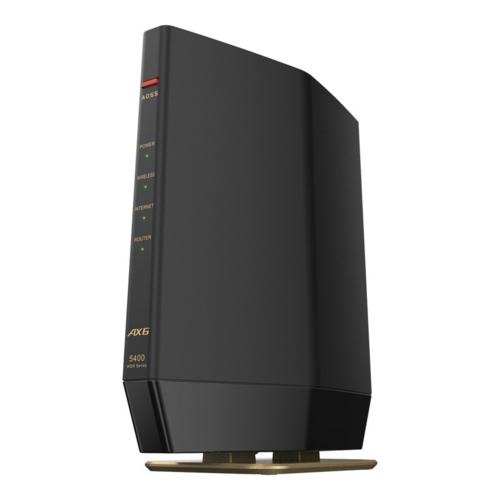 在庫あり 14時までの注文で当日出荷可能 バッファロー WSR-5400AX6S-MB マットブラック 対応ルーター Wi-Fi 低価格 6 プレミアムモデル 受注生産品